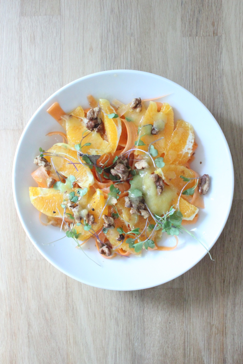 Carrot Orange Salad with Walnuts2