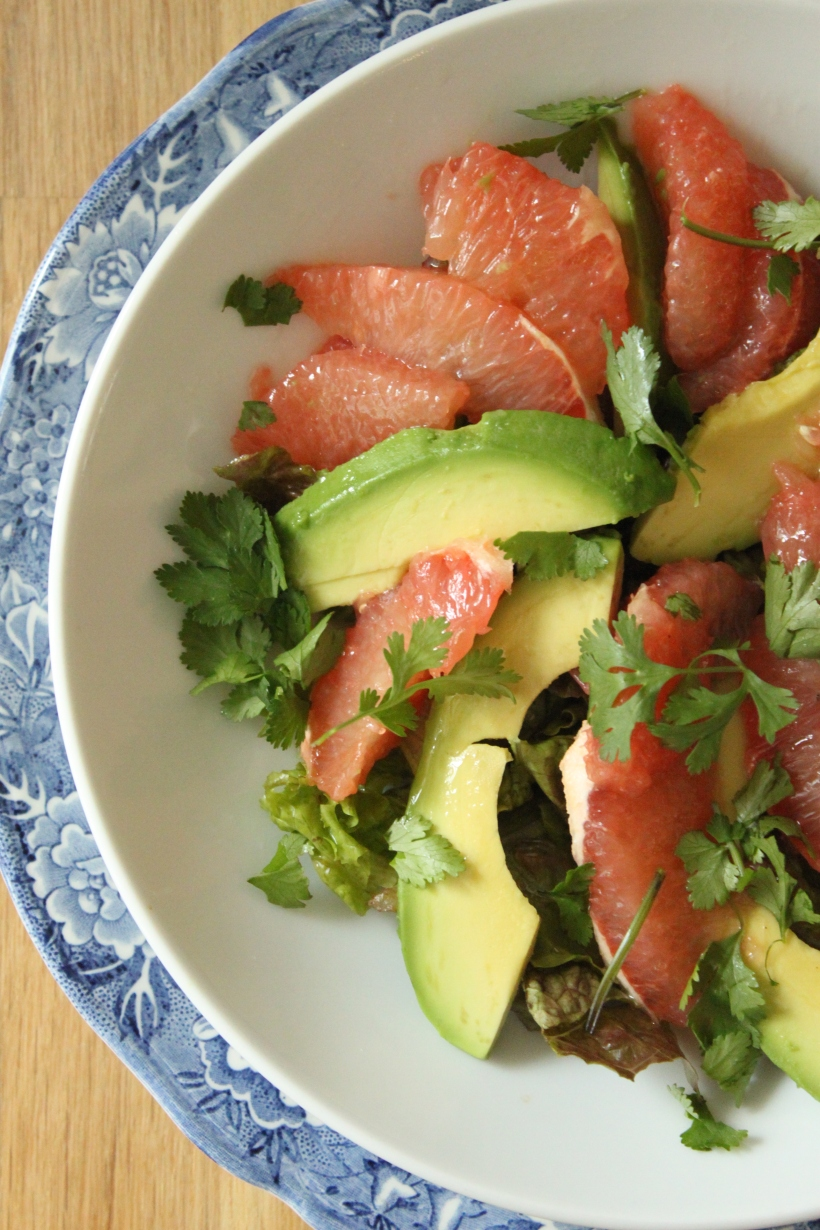 Grapefruit and Avocado Salad3